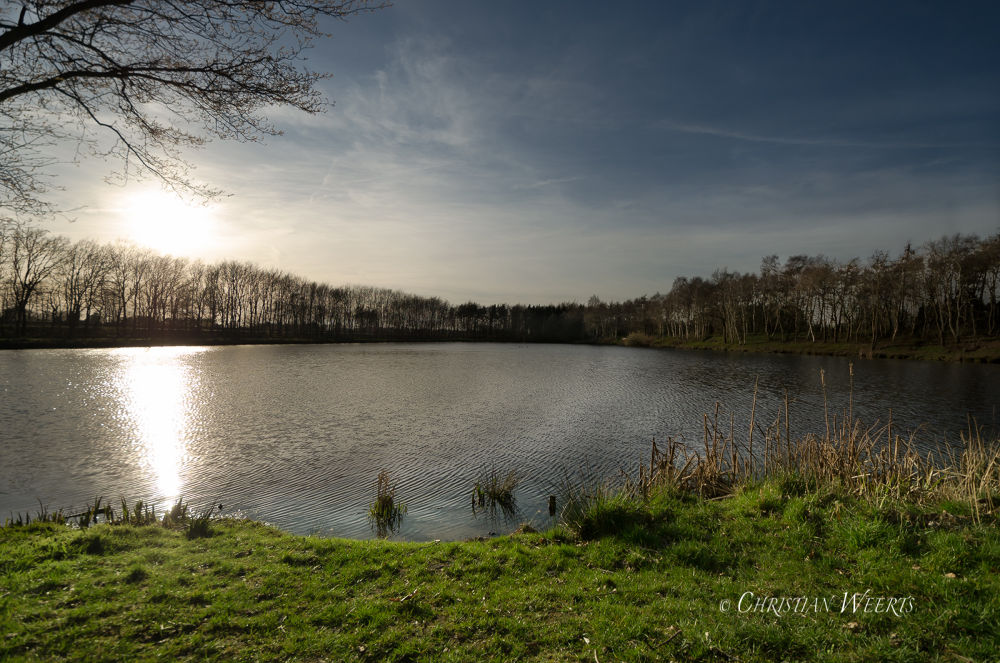 Wideangle pond by Christian Weerts