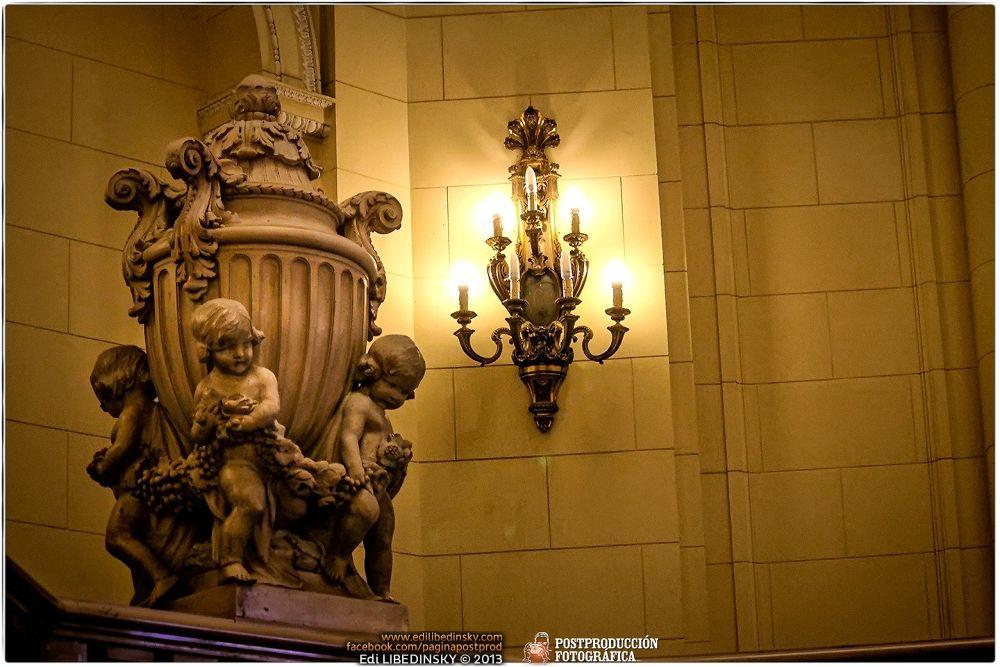 Palacio de la Legislatura de la Ciudad de Buenos Aires by Edi Libedinsky