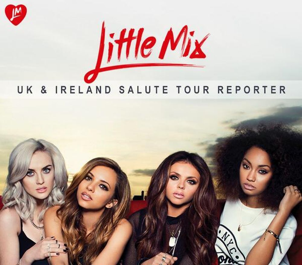 Some awesome #UKTourReporter entries over the weekend UK & Ireland. Love it. Mixers HQ x http://ukto by Little Mix