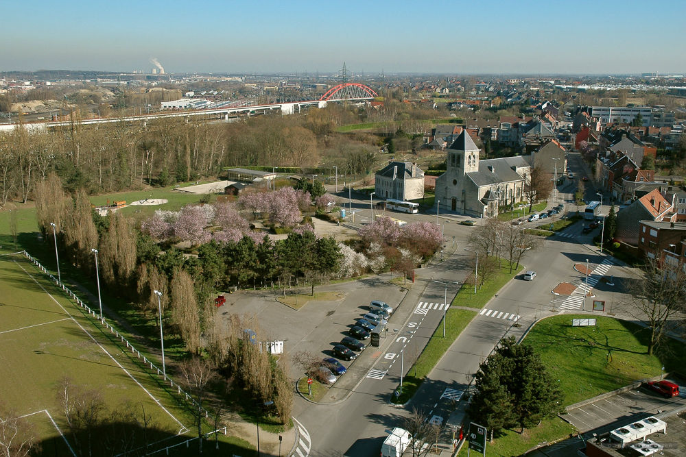 Suburb area, Brussels by Thierry Preusser