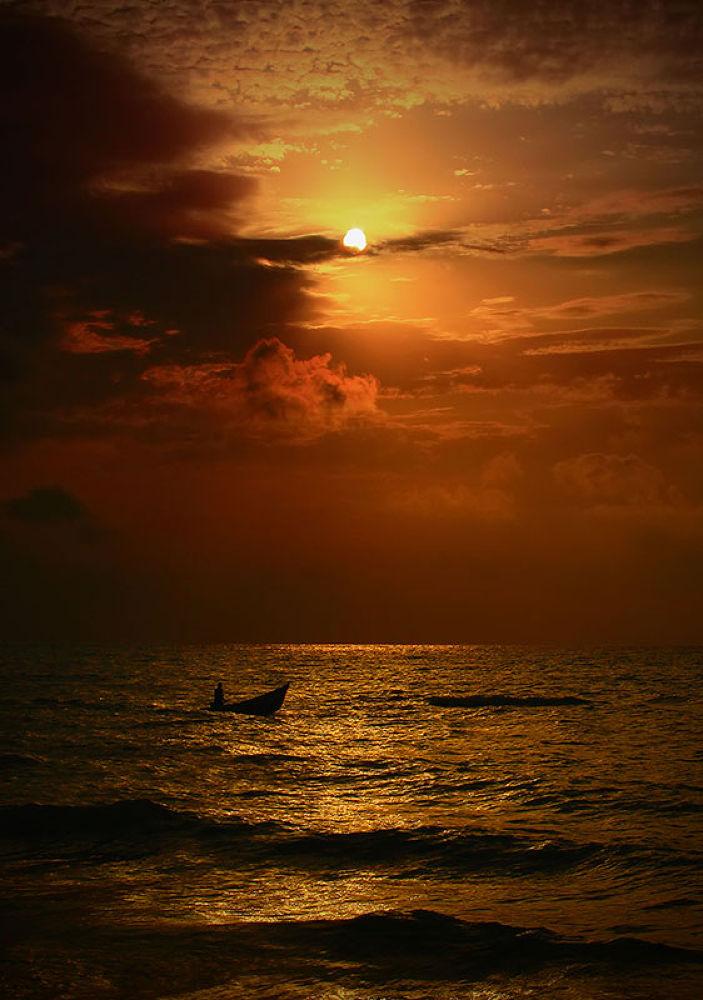 sunset by Hadi.M