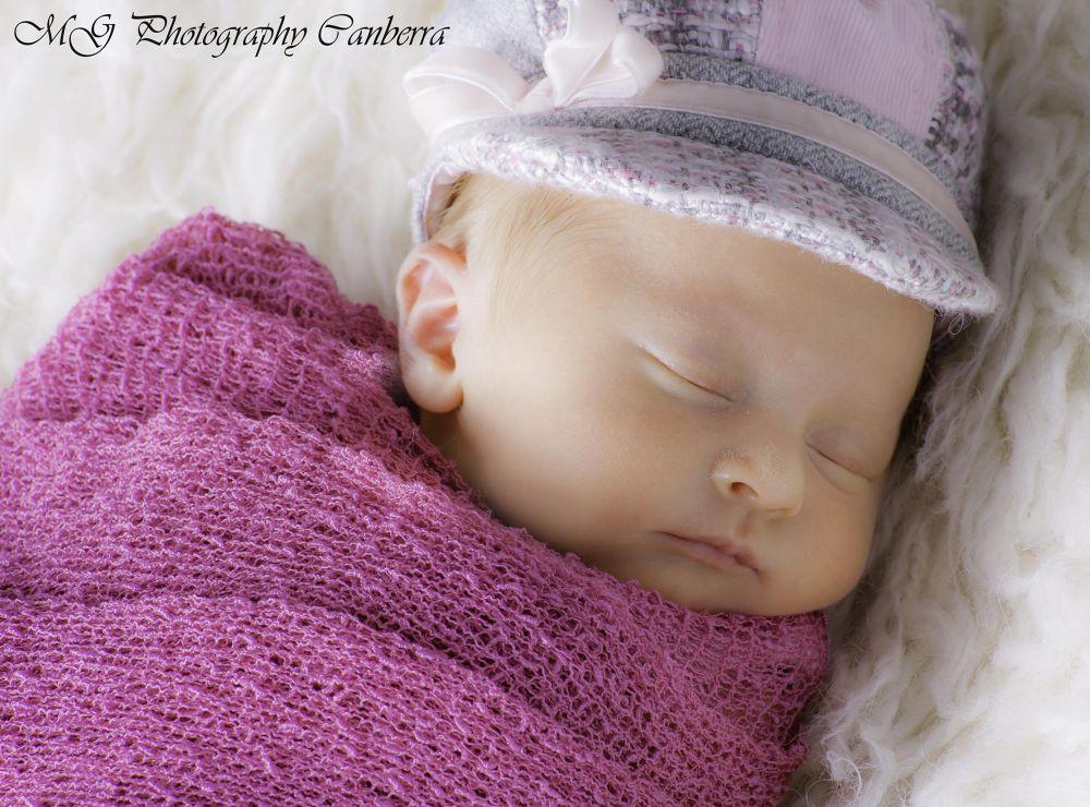 sleeping baby by Mel Neves
