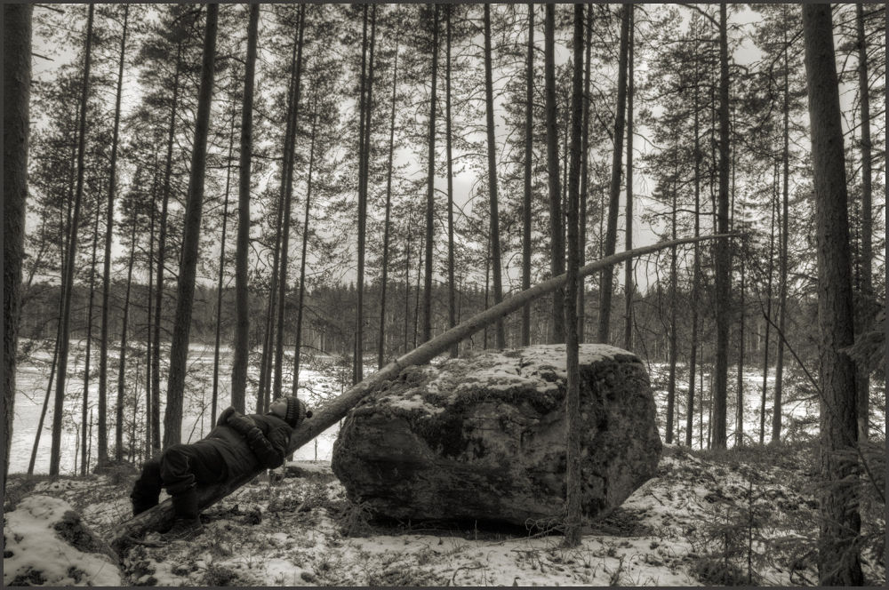 A good place for a nap by pekka ilari t