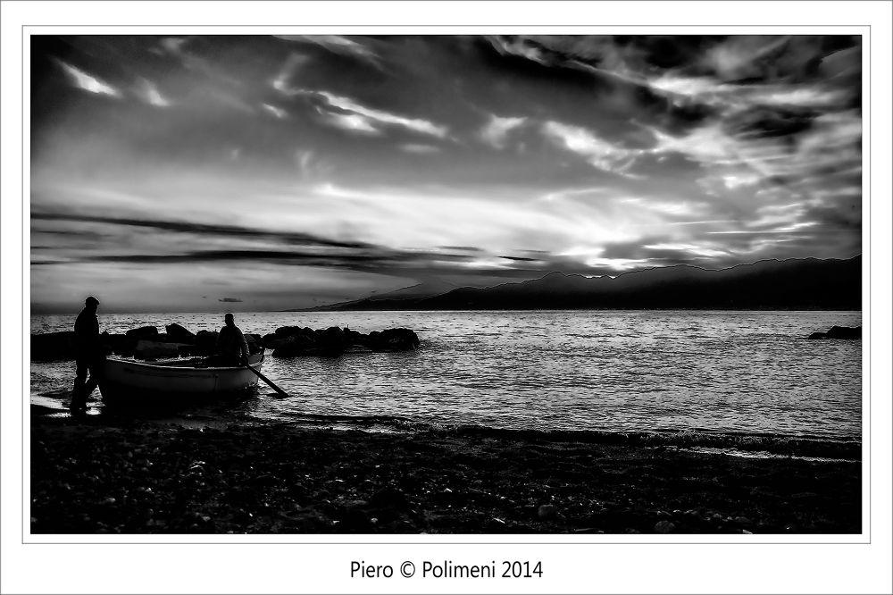 _DSC0020_Pescatori_al_tramonto_RC by Piero Polimeni