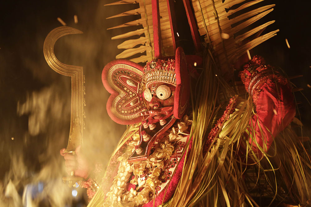 Theyyam -the human gods by Sangeeth Thali