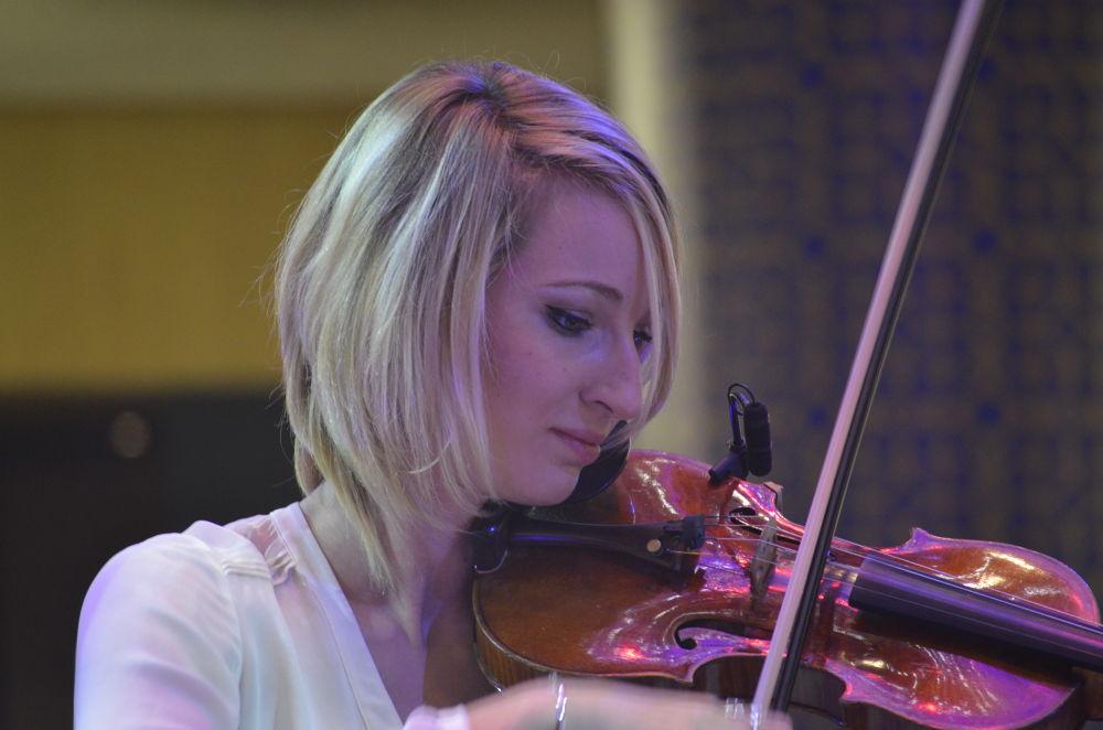 Violin Girl by S M Rezaul Haque