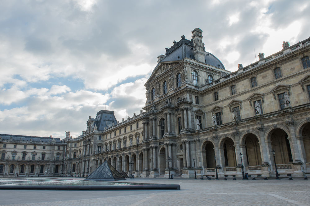 Louvre Museum by Lawrence Photography