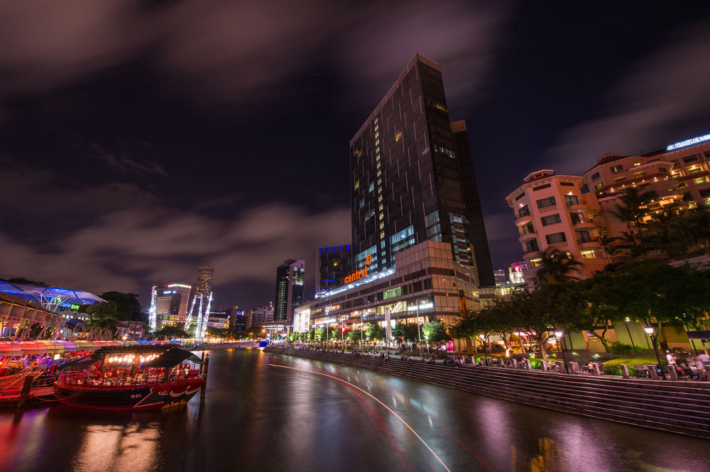 Boat Quay 駁船碼頭 by Lawrence Photography