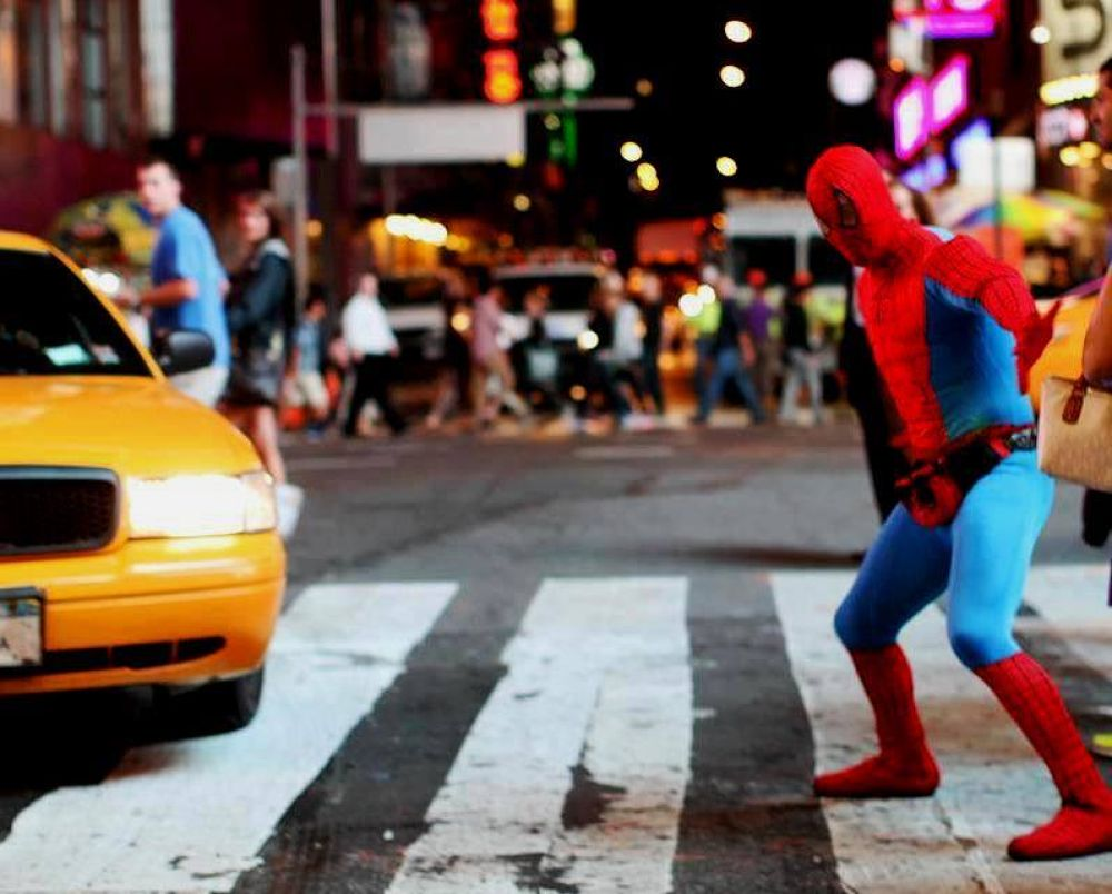 Times Square NY by Liborio Drogo