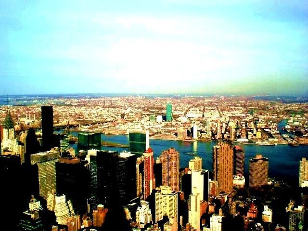From the empire state bldg by Liborio Drogo