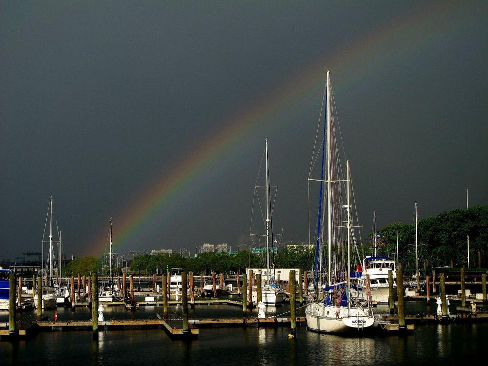 Rainbow NY by Liborio Drogo