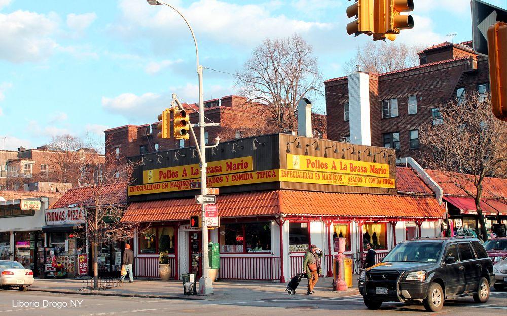 Jackson Heights NY by Liborio Drogo