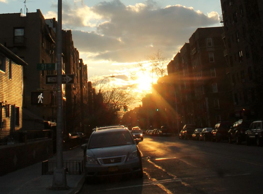 Sunset Jackson Heights NY, by Liborio Drogo