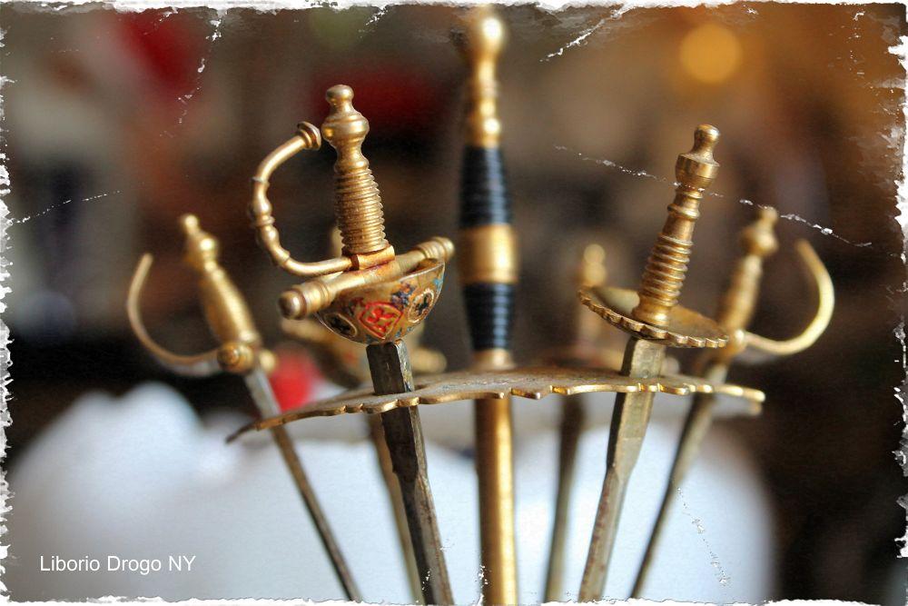 miniature epees, by Liborio Drogo