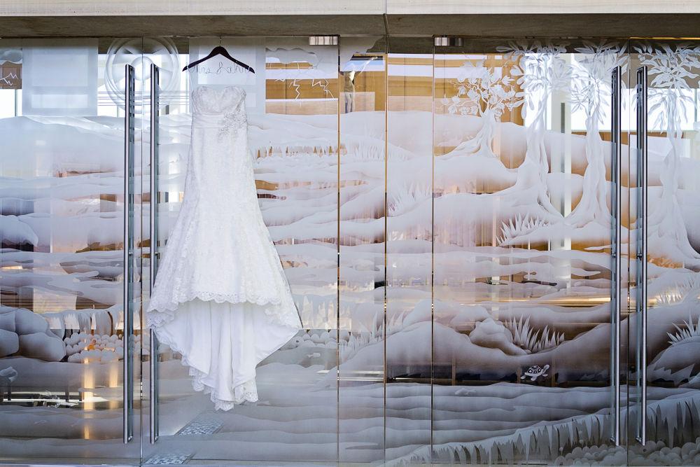 Wedding Dress by Krissi Gates