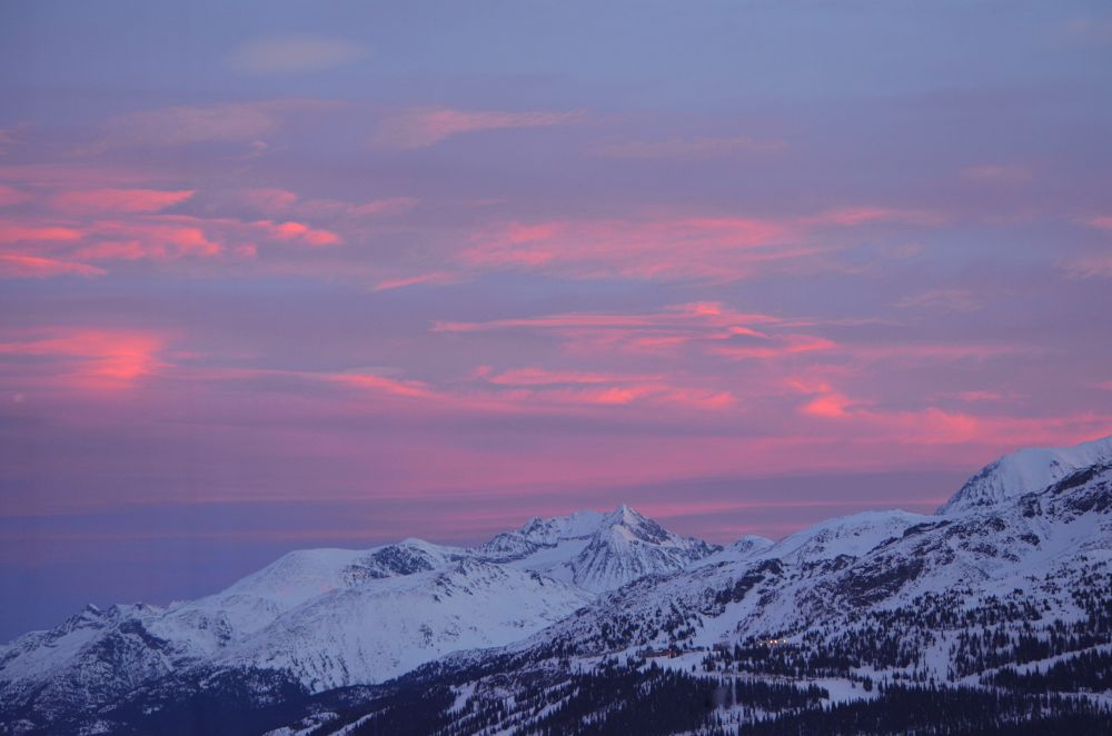 Sky at Blackcomb Mt by Itsmemjt