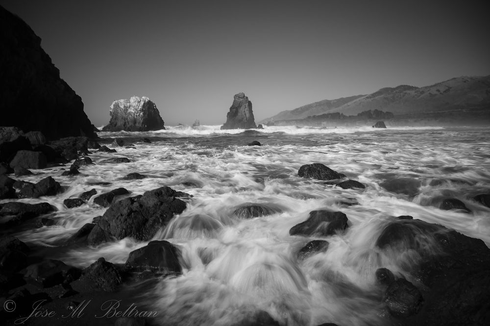 Piedras Blancas California by Jose M Beltran