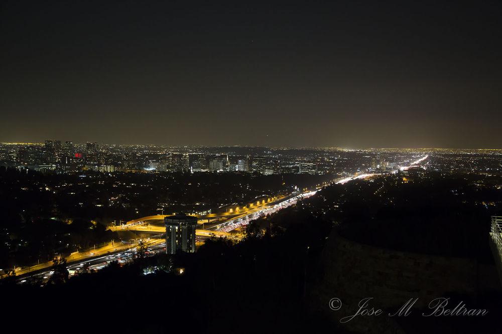 Los Angeles California by Jose M Beltran