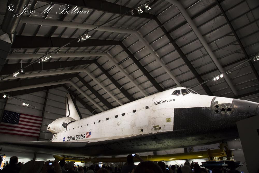 Space shuttle los angeles by Jose M Beltran