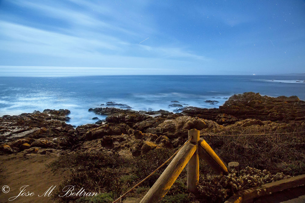 Cambria California Moonstone Beach by Jose M Beltran