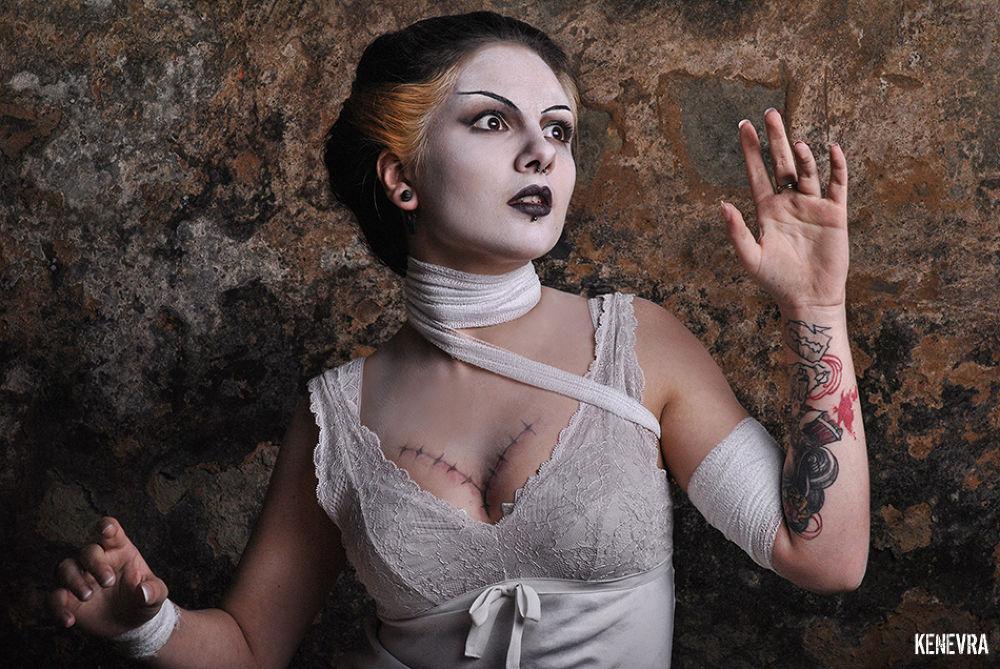 Photo in Portrait #bride of frankenstein #fantastic #movie #makeup #fx #tatoo #beauty