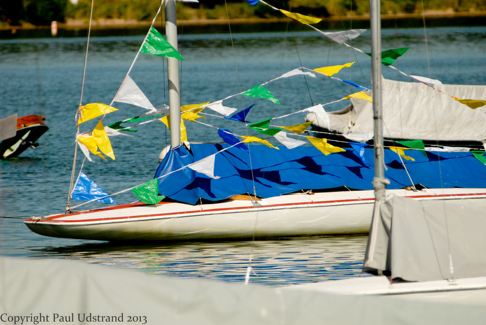 Very small sails? by Paul Udstrand