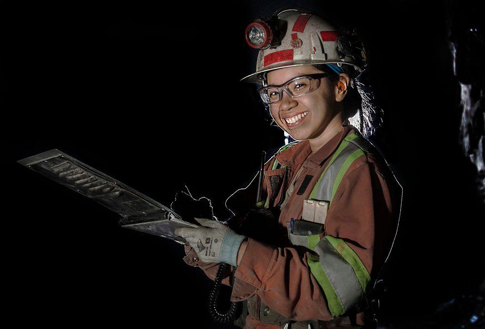 danica underground at Newmont Goldcorp Musselwhite