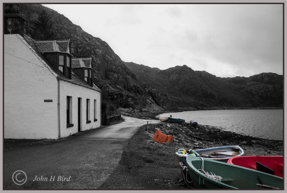 Diabaig West Coast Scotland by John Bird