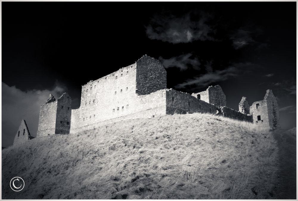 Ruthven Barracks Kingussie Scotland by John Bird