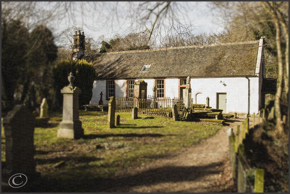 Nigg Church Ross-shire Scotland by John Bird