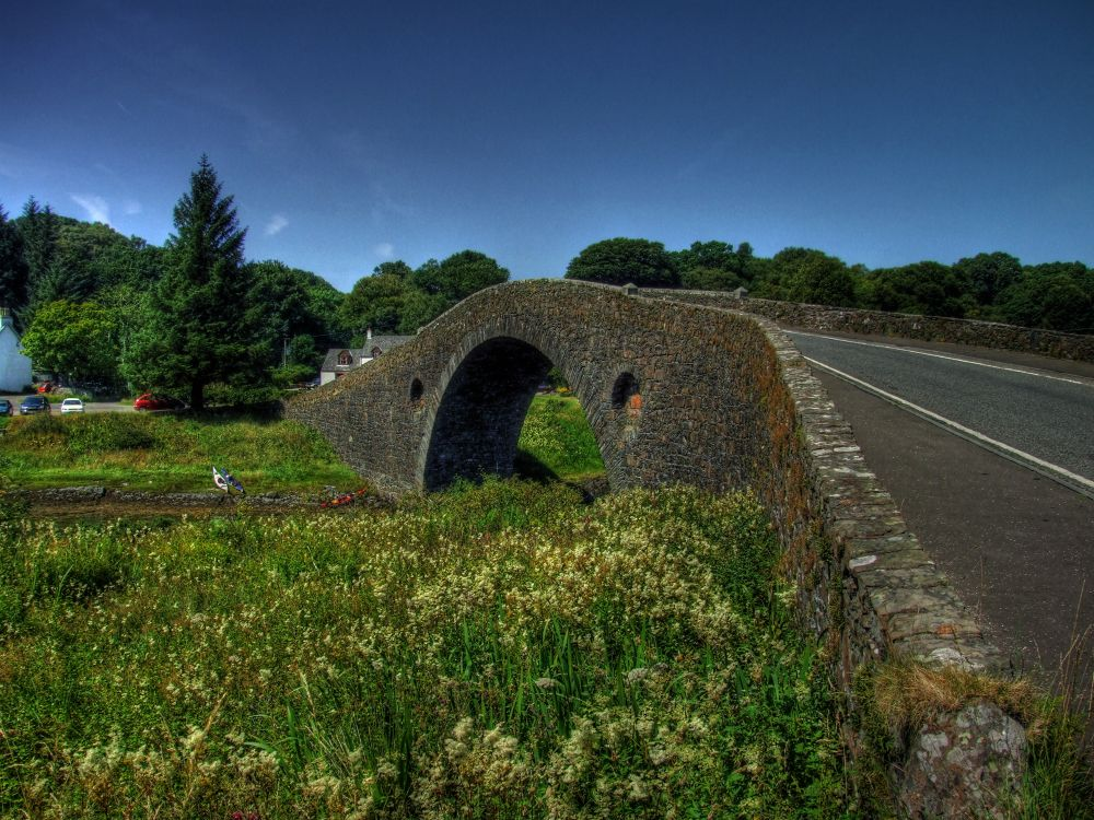 """The Bridge over the Atlantic""         West Coast Scotland by John Bird"