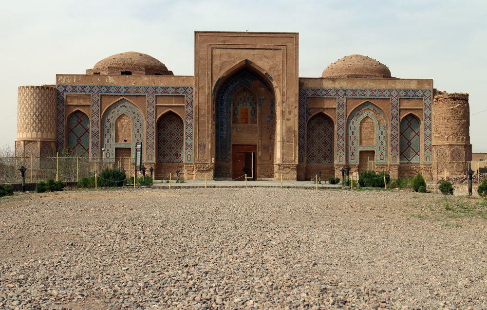 Ghiasieh school, Khargerd. by Saeed Taghinejad