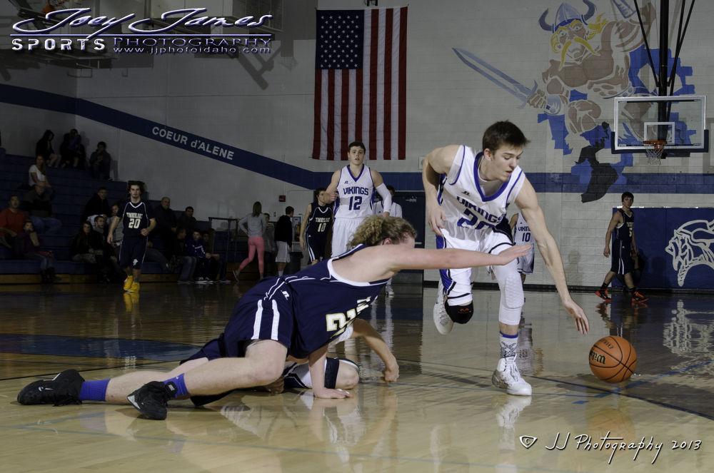 Viking basketball by Joey James