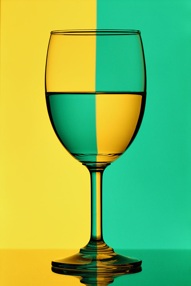 Refraction Glass by Ramakant Sharda