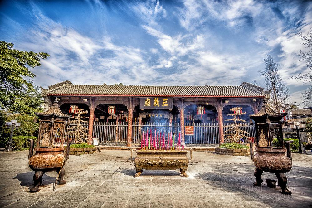 ศาลเจ้าสามก๊ก ที่เมืองเฉิงตู มณฑลเสฉวน ประเทศจีน by Katang G-Next