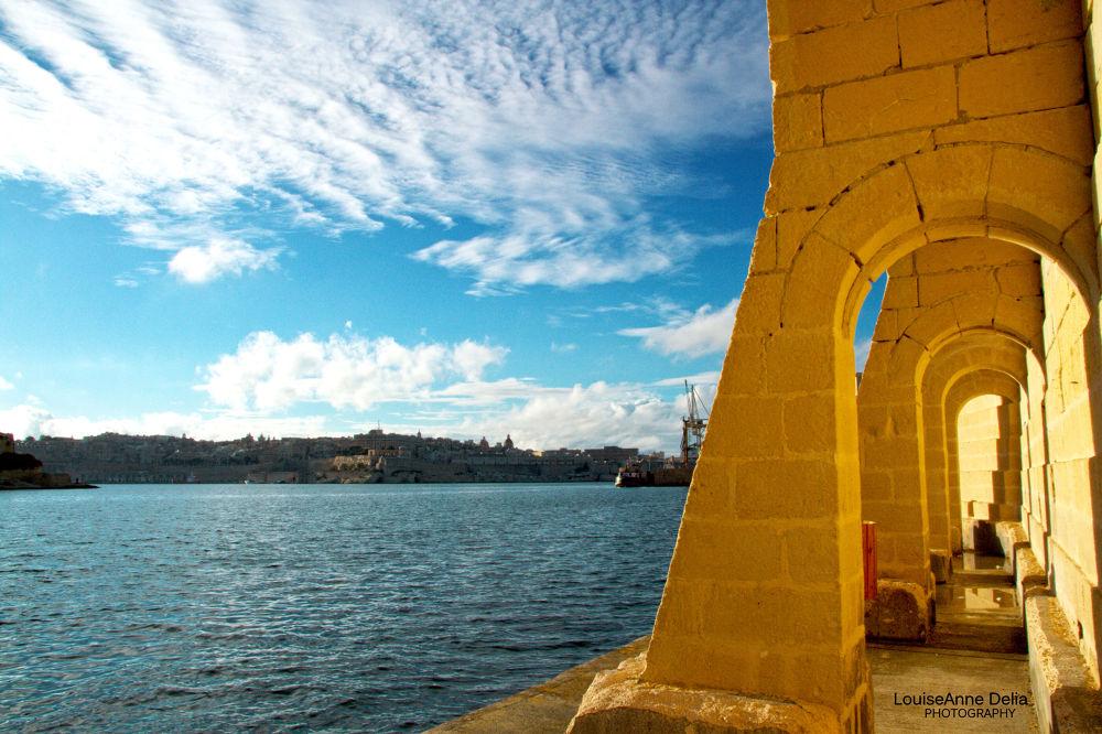 Kalkara, Malta by LouiseAnne Delia