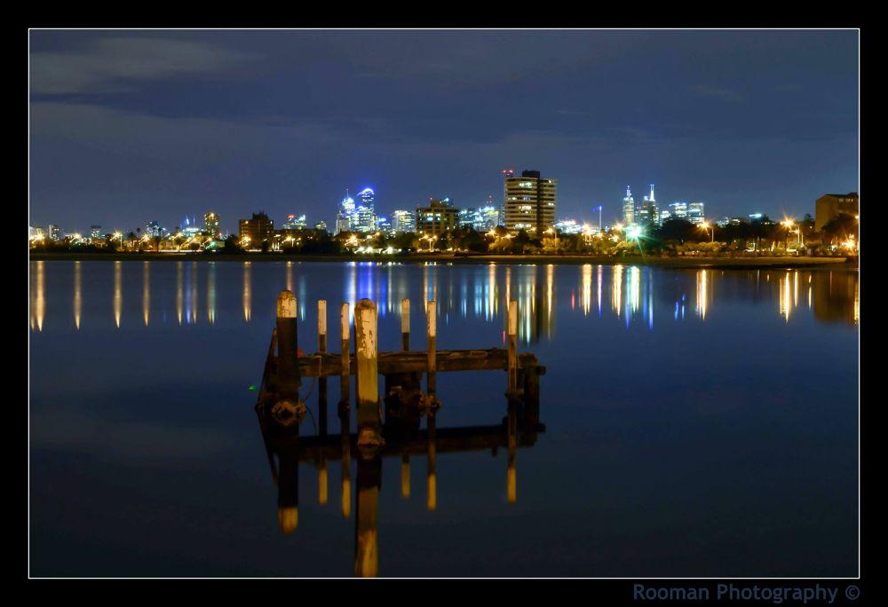 Night Lights by Roo Man