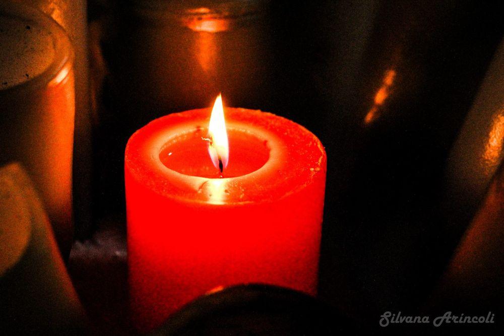 Serie Candle VI by Silvana Aríncoli