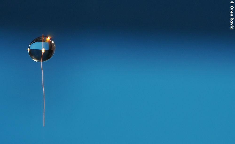 ballon droplet by Oren Ravid