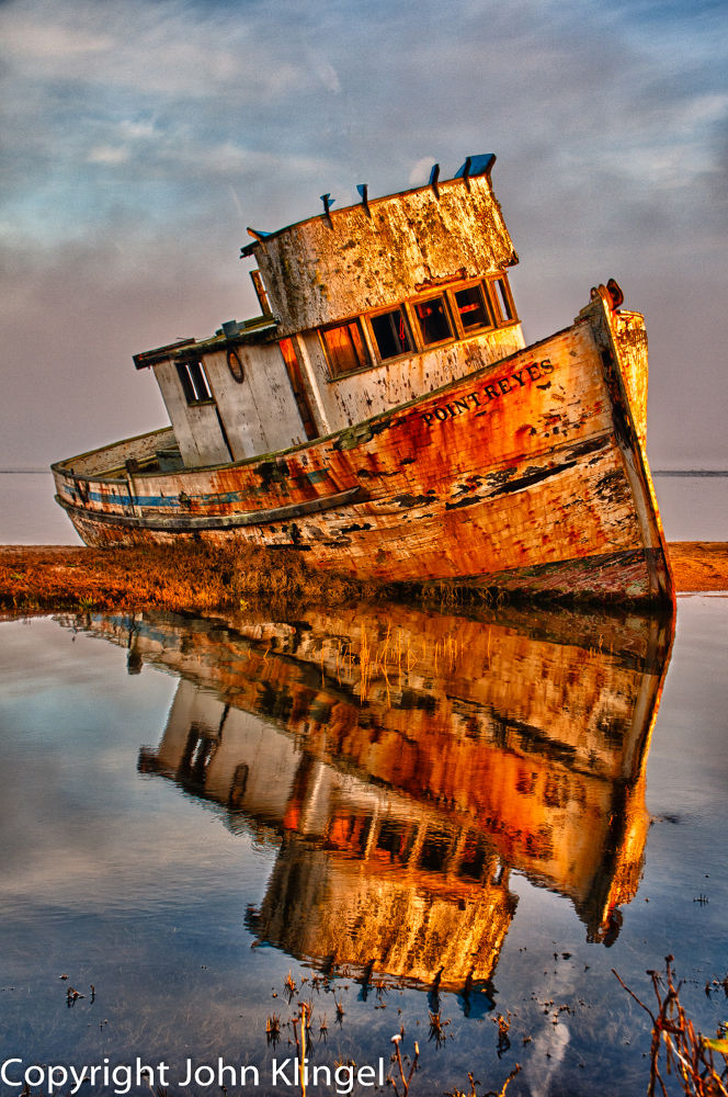 The Old Point Reyes by John Klingel