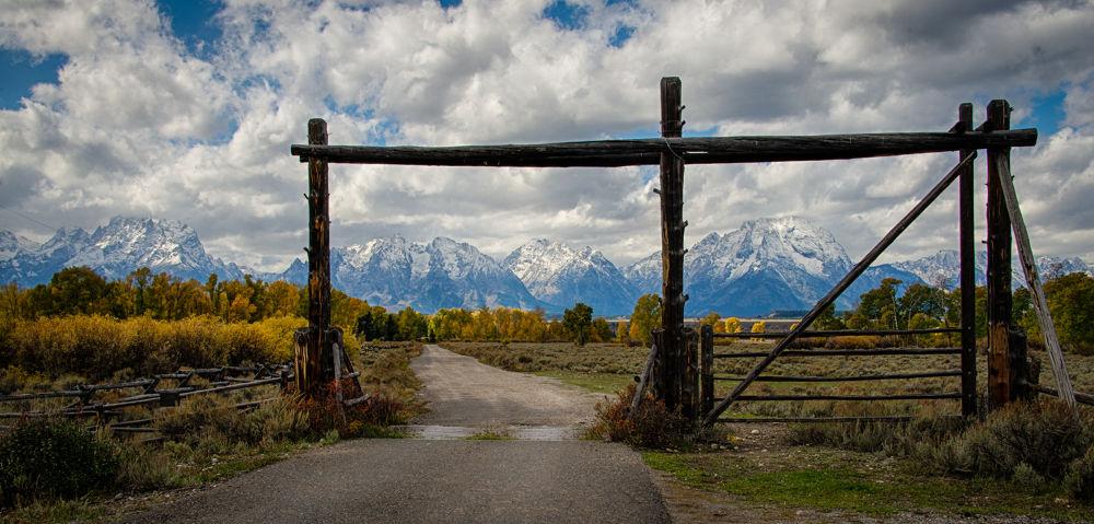 Ranch Gate by John Klingel