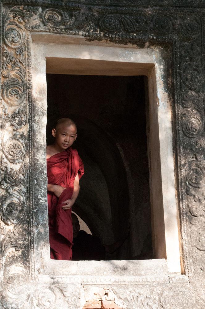 Little Monk by John Klingel