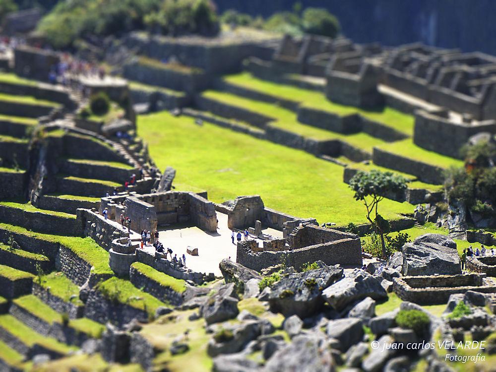 Machu Picchu Tilt Shift by Juan Carlos Velarde