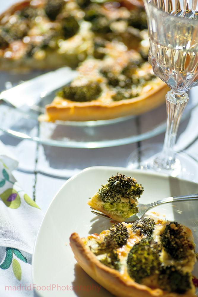 brocoli & parmesan quiche by MexicoFoodPhotograph