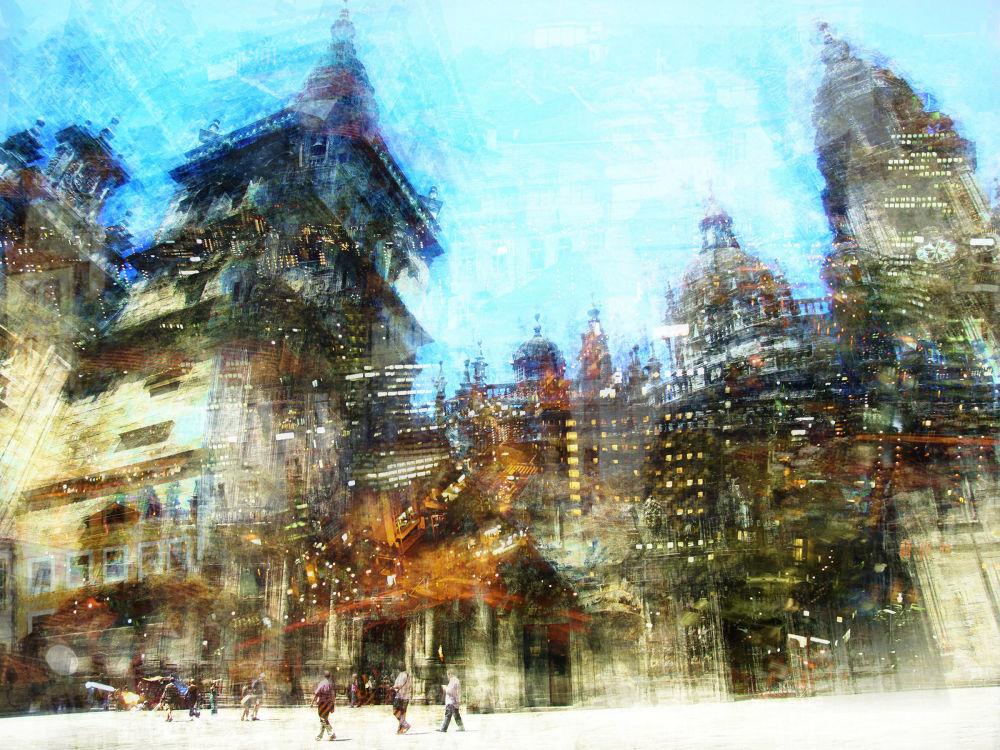 lights of Santiago, 2013 by Brut Carniollus
