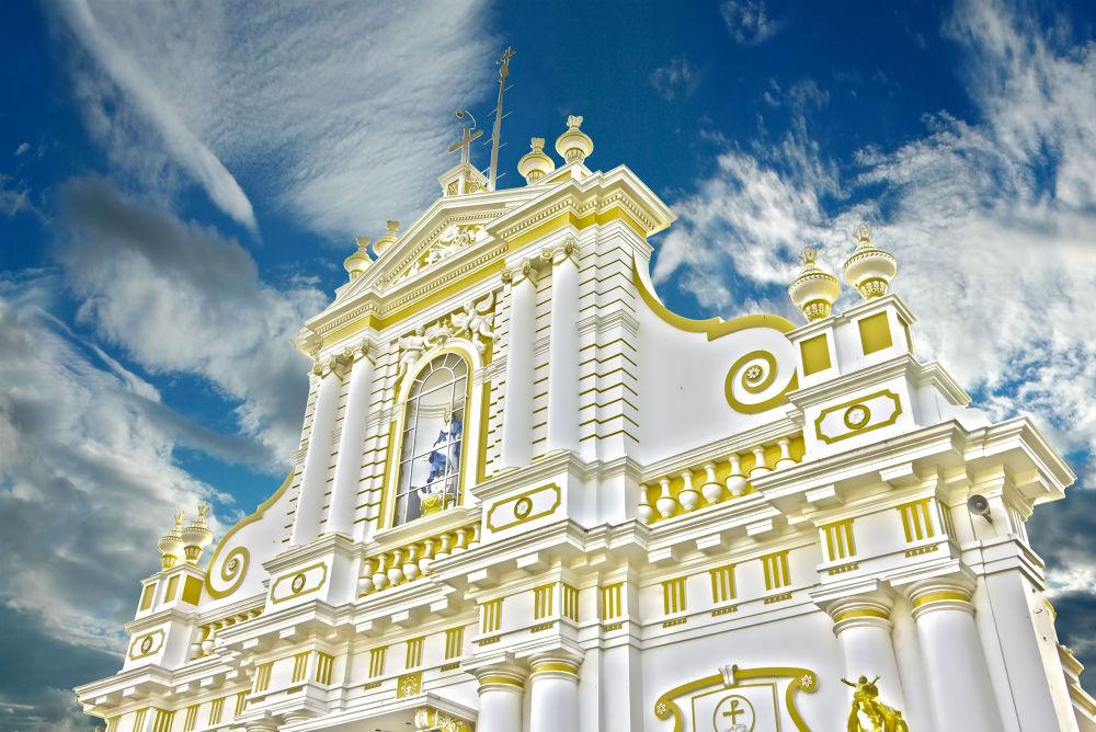 PONDICHERRY-CHURCH by Shivas Sivakumar