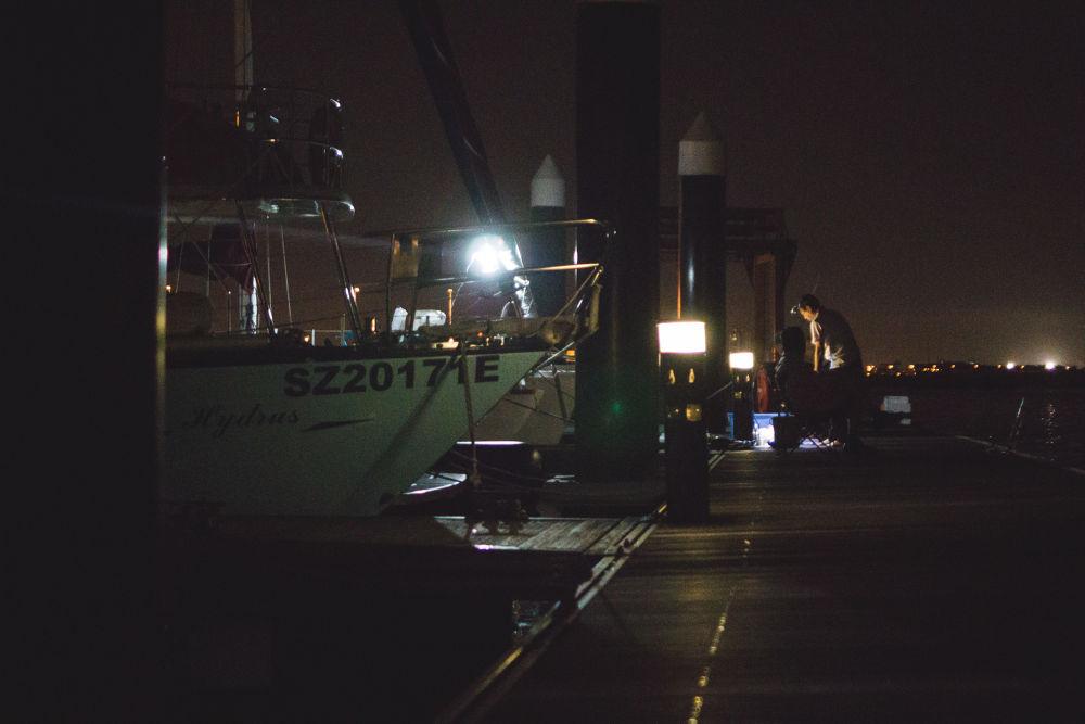 Night fishing w/ AW1 by Reuben Chia