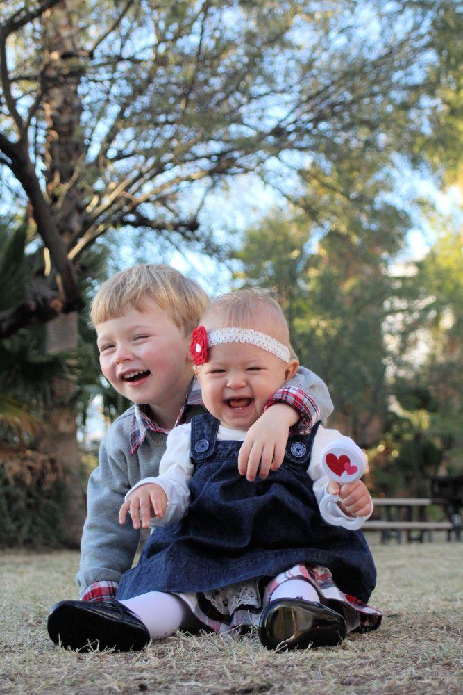 Sibling love! by JustJayne