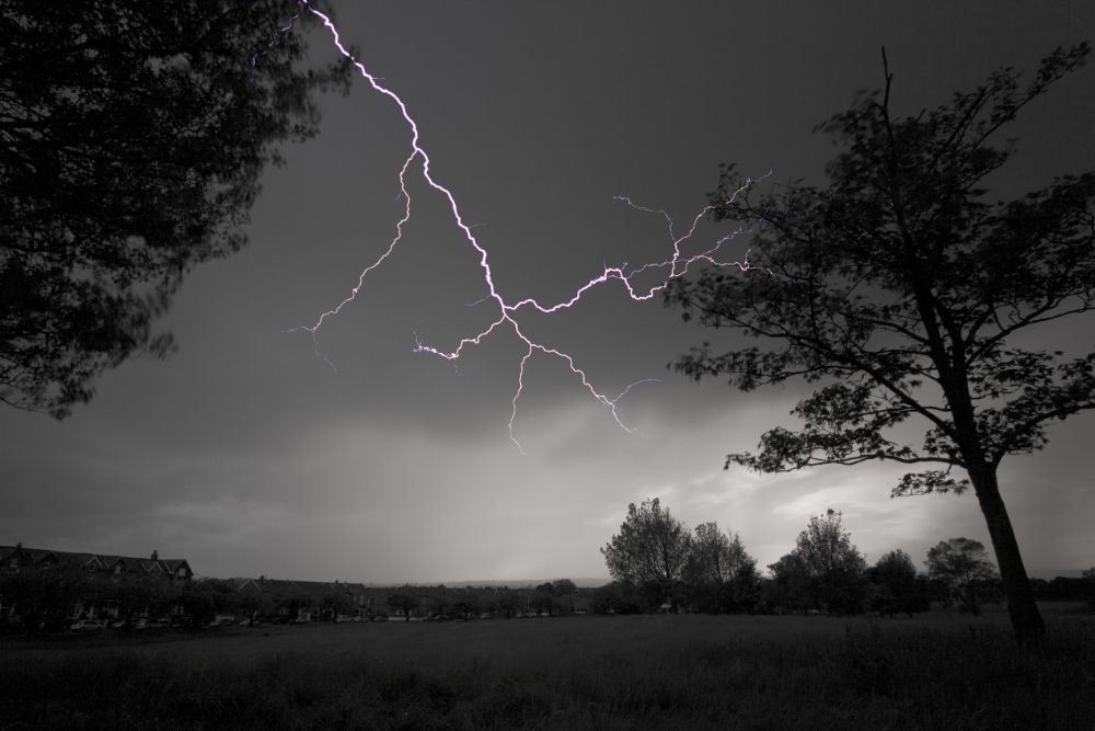Lightning in the Park by fiftythreenorth