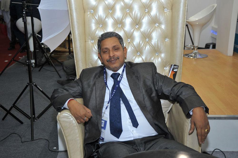 Resting on chair by vishnumohan